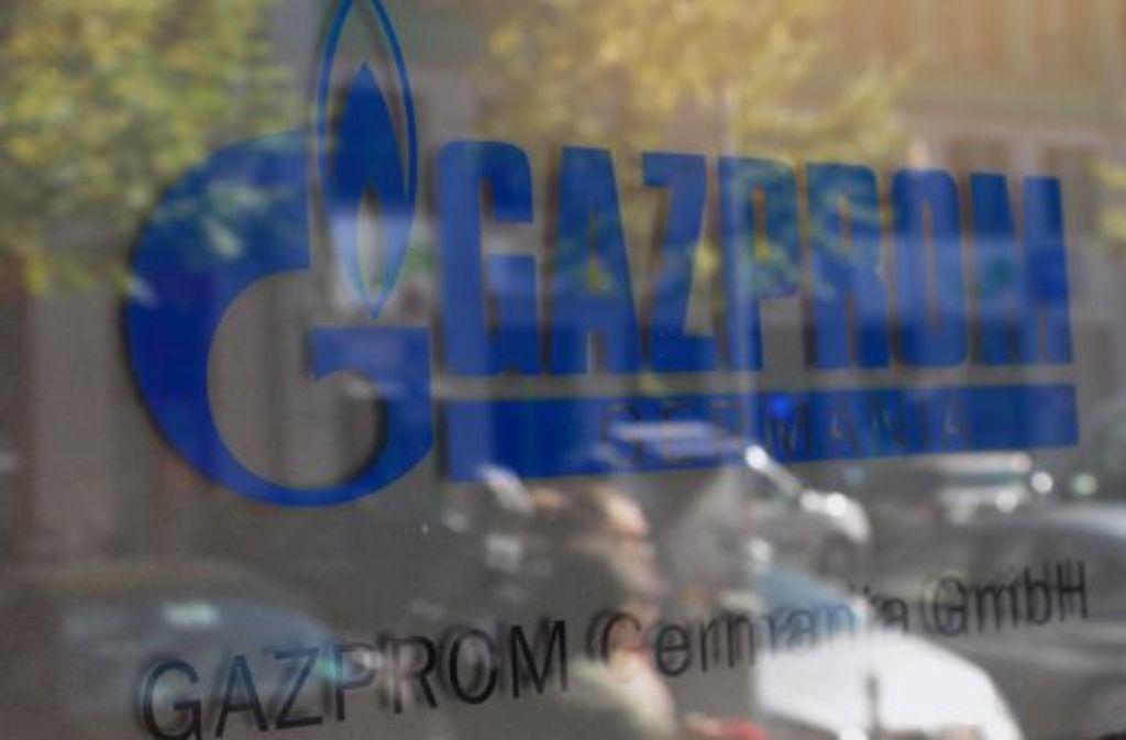 Gazprom droht mit einem Lieferstopp. Foto: dpa