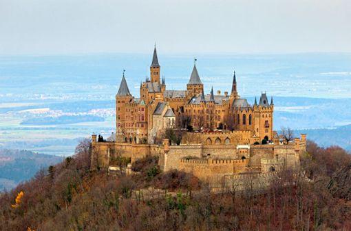 Die Hohenzollernburg  hat mal kurz gezittert