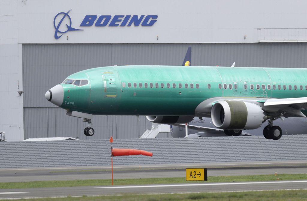 Von den Defekten könnten auch 179 Flugzeuge vom Typ 737 Max betroffen sein. Foto: dpa