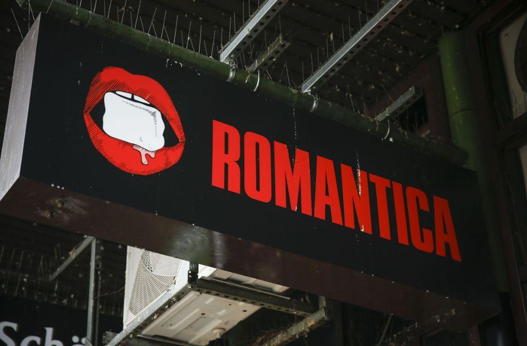 Die Bar Romantica gehört zu den Clubs an der Eberhardstraße, die besonders große Angst vor der neuen Regelung der Sperrzeit haben. Foto: Lichtgut/Leif Piechowski