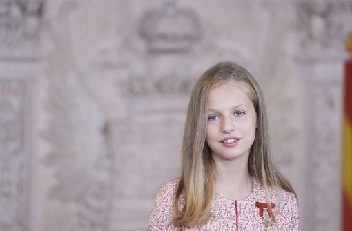 Prinzessin Leonor besucht künftig auch die royale Kaderschmiede