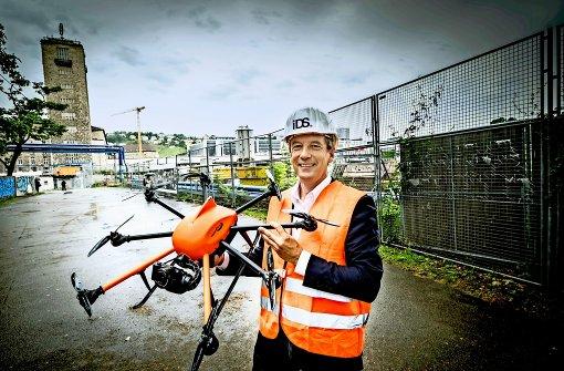 Behörde verbietet Drohnenflüge über Stuttgart 21