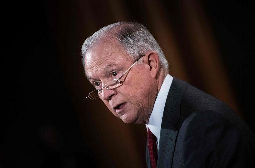 Sessions nimmt Trump in Schutz