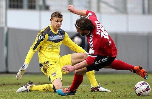 VfB II geht mit 0:3 gegen Großaspach unter