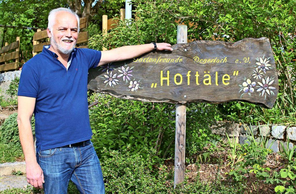 Zoran Dragovic hat das Hoftäle übernommen. Ab Himmelfahrt werden dort wieder Gäste bewirtet. Foto: Caroline Holowiecki