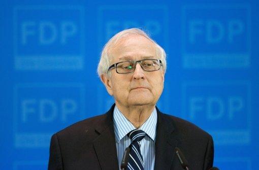 Rainer Brüderle, der FDP-Fraktionsvorsitzende, steht in der Kritik. Foto: dpa