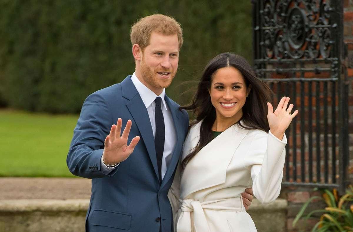 Der britische Prinz Harry und die US-amerikanische Schauspielerin Meghan Markle erwarten ihr zweites Kind. Foto: dpa/Dominic Lipinski