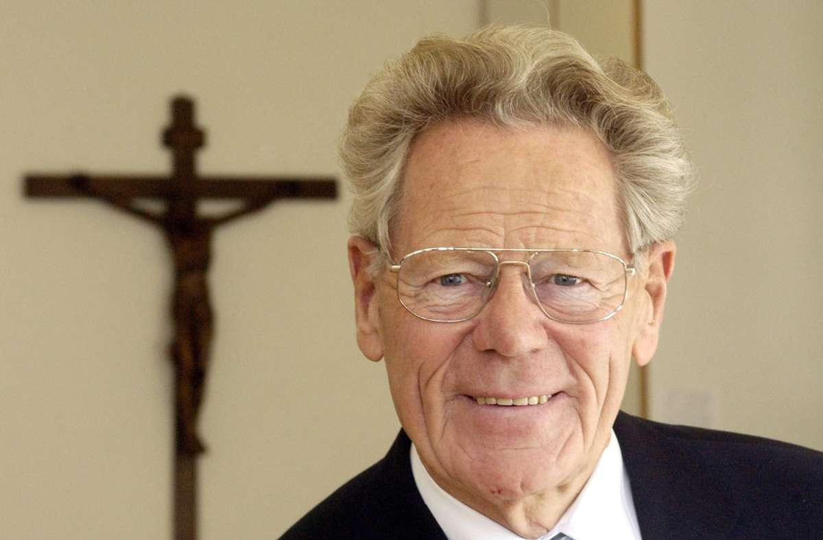 Hans Küng ist 93 Jahre alt geworden. (Archivbild) Foto: dpa/Marijan Murat