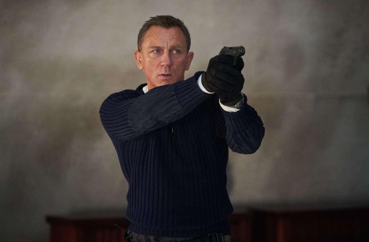 """Daniel Craig, der James Bond im neuen Bond-Film """"No Time To Die"""" spielt Foto: dpa/Nicola Dove"""