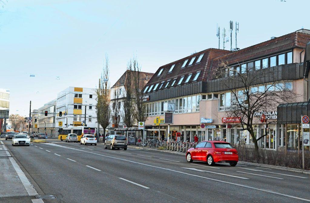 Die Verwaltung will das Vaihinger Ortszentrum wieder beleben. Insbesondere die Hauptstraße rückt in den Blick. Foto: Sandra Hintermayr