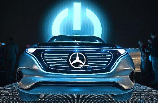 Auf dem Autosalon in Paris hat Daimler  die Studie Generation EQ vorgestellt –  Vorbote einer  Flotte von Elektroautos. Foto: dpam