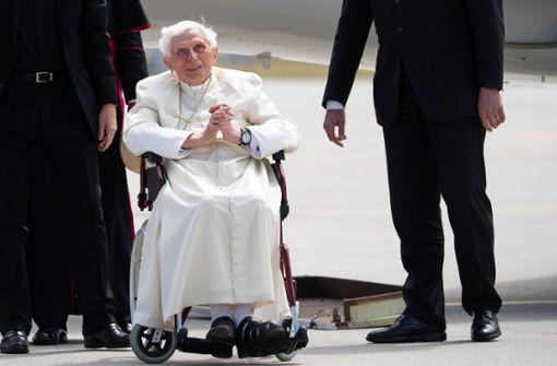 Benedikt XVI. ist schwer erkrankt