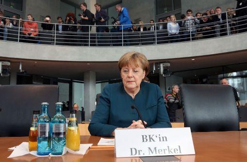 Kanzlerin erfuhr aus Medien von VW-Skandal