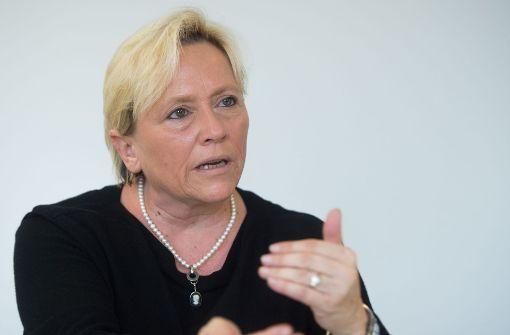 Susanne Eisenmann rechnet mit Unterrichtsausfällen