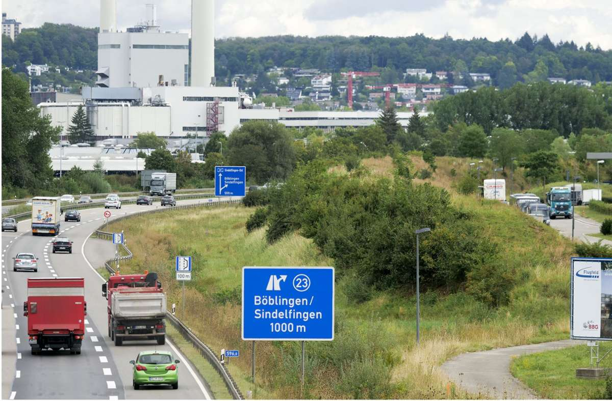 Bald nur noch freie Fahrt: die Autobahn wird ausgebaut. Foto: factum/Simon Granville