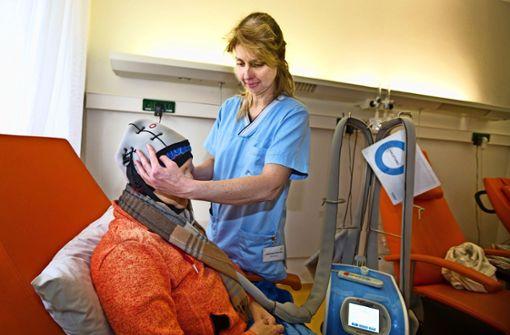 Kühlgerät stoppt  Haarausfall bei Chemotherapie