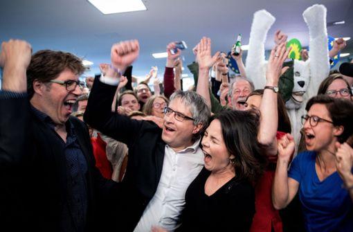 Wahlkampfkasse der Grünen ist gut gefüllt