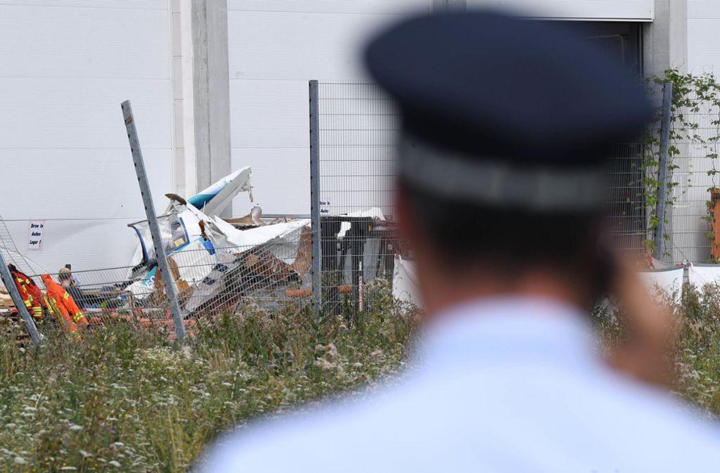 Die Ermittlungen nach dem tödlichen Absturz in Bruchsal dauern an. Foto: dpa