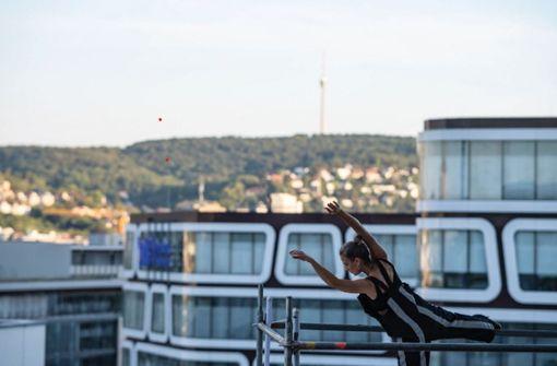 Choreograf Gonçalo Cruzinha will hoch hinaus