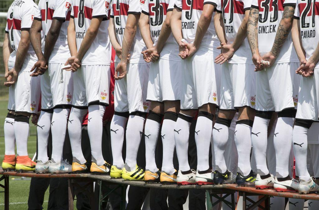 Der VfB Stuttgart bestreitete sein erstes Pflichtspiel der Saison gegen Energie Cottbus. Foto: AFP