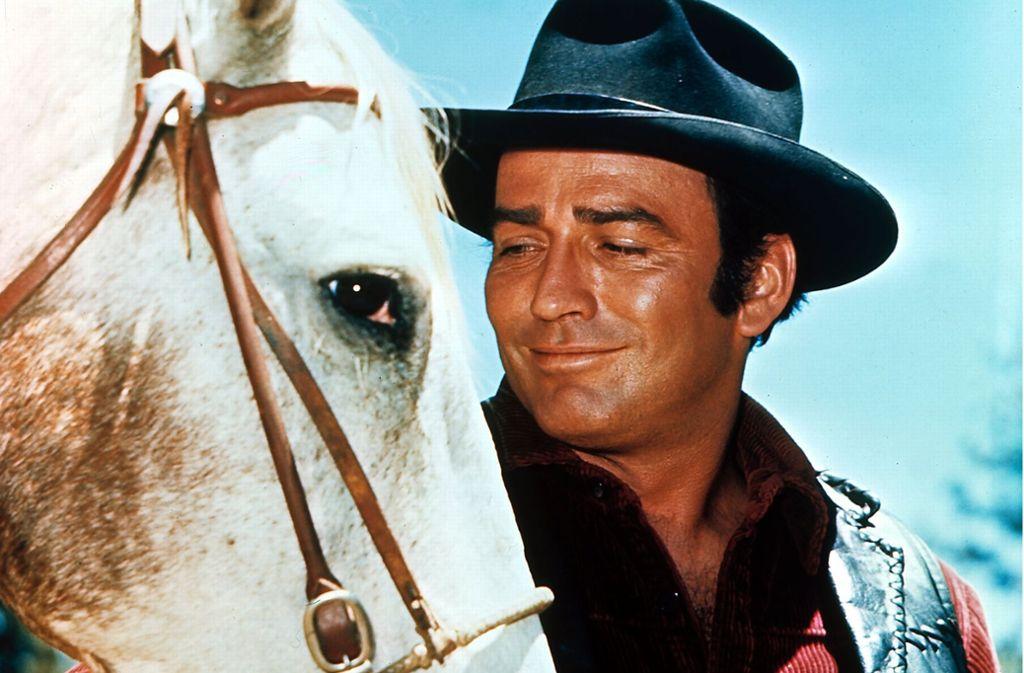 """So kannten ihn die Fans: James Drury in den 60er Jahren in """"Die Leute von der Shiloh Ranch"""" Foto: dpa/UPI"""