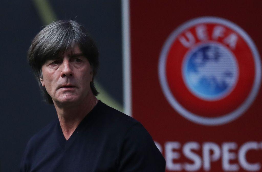Will gegen Nordirland eine verbesserte deutsche Mannschaft sehen: Bundestrainer Joachim Löw. Foto: Getty