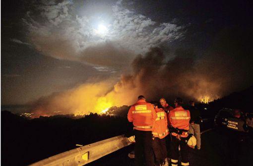 Gran Canaria steht in Flammen