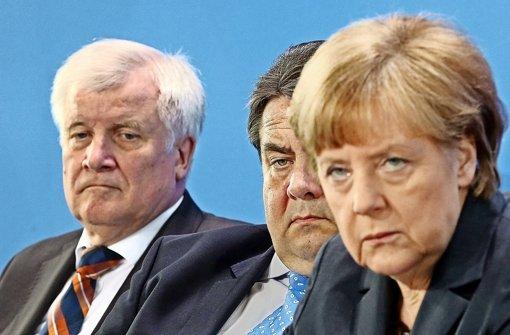 Sigmar Gabriel und Angela Merkel sind immer mehr Konkurrenten statt Partner. Foto: dpa