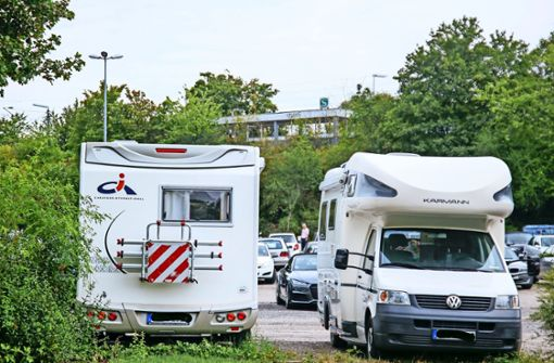 Neuer Trailerpark am Uni-Campus