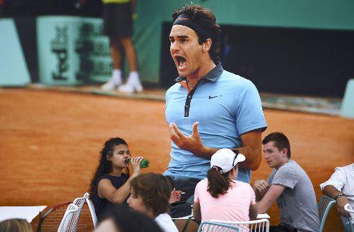 Federer trifft möglicherweise gleich auf Haas