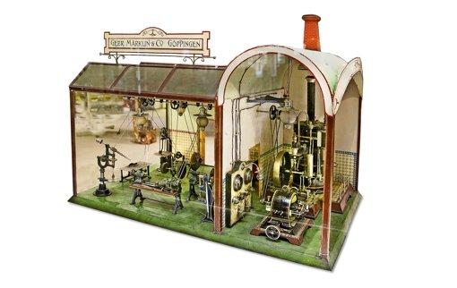 Eine komplette Fabrik unterm Hammer