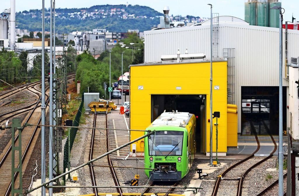 Die Strohgäubahn  beschäftigt seit Jahren die Gerichte. Foto: factum/Archiv