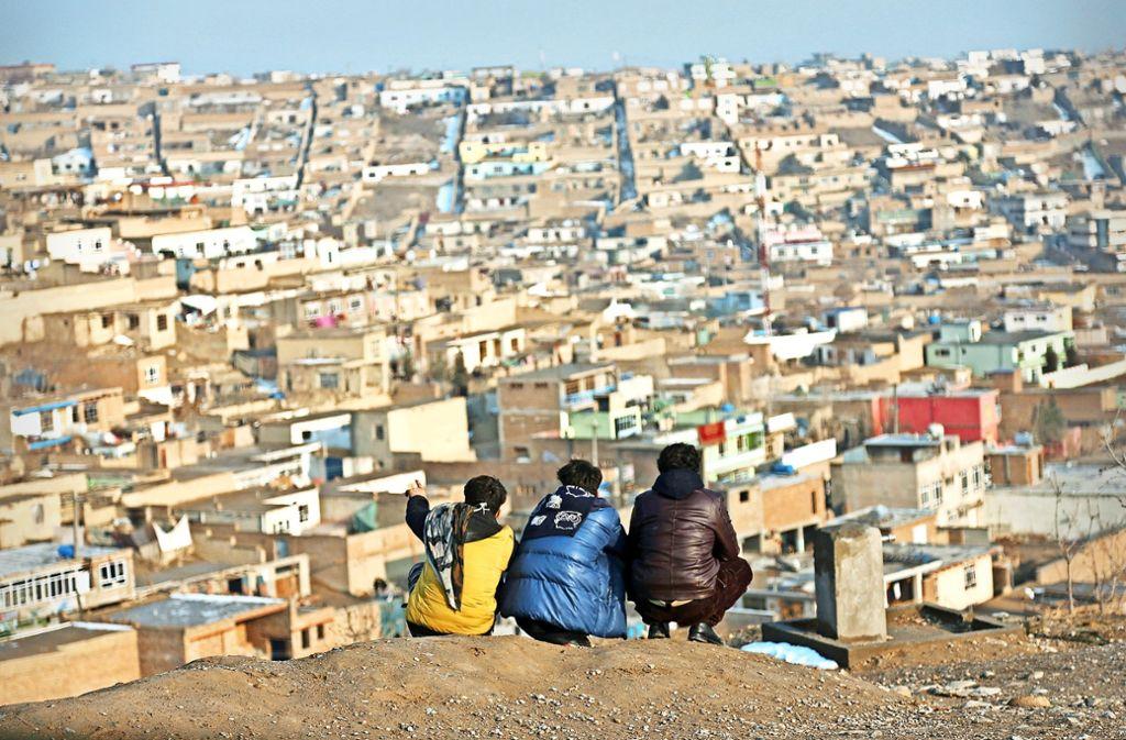 Blick auf Kabul. Die afghanische Hauptstadt wächst weiter – allem Terror zum Trotz. Foto: AP