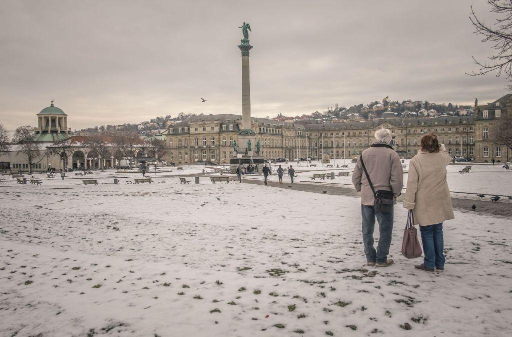 Der Winter in Stuttgart hat einiges zu bieten und ist besonders schön. Foto: Lichtgut/Max Kovalenko