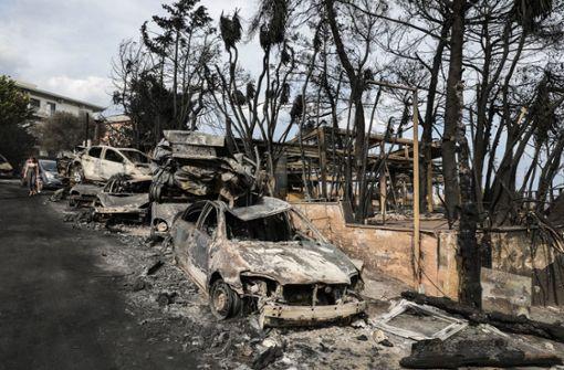Einsatzkräfte finden immer noch Waldbrandopfer