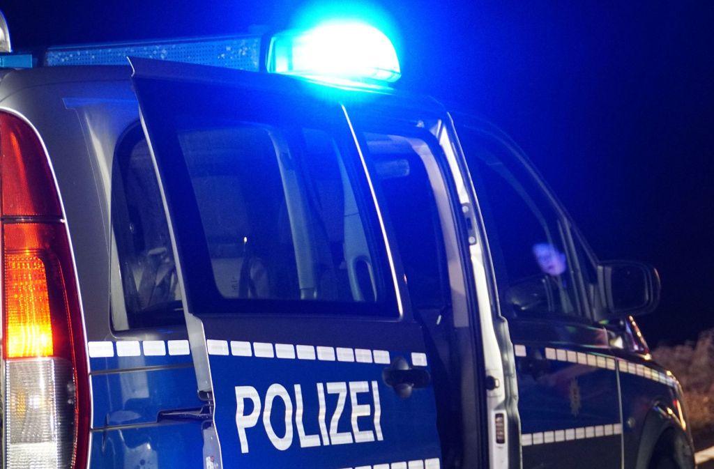 Die Polizei versucht nach dem Unfall zweier Lastwagen am Autobahnkreuz Walldorf mit Umleitungen den Staus entgegen zu wirken. (Symbolfoto) Foto: SDMG