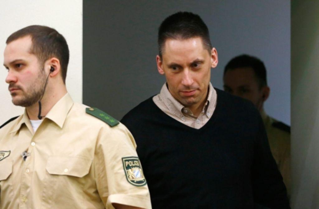 Der mutmaßliche Terrorhelfer Ralf Wohlleben Foto: AP POOL
