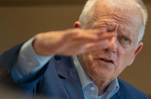 Fritz Kuhn meldet sich mit emotionalem Appell zu Wort