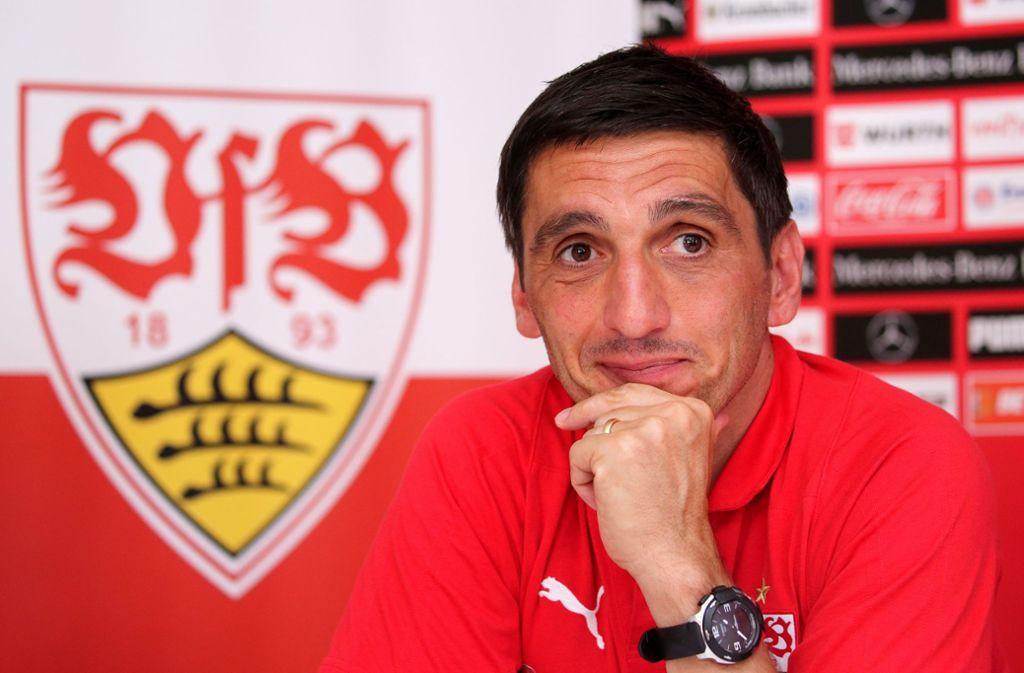 Drei von 18 Bundesliga-Trainern und -Managern haben nicht auf den FC Bayern München als kommenden deutschen Meister getippt – ob VfB-Trainer Tayfun Korkut zu den Abweichlern gehört? Foto: Baumann