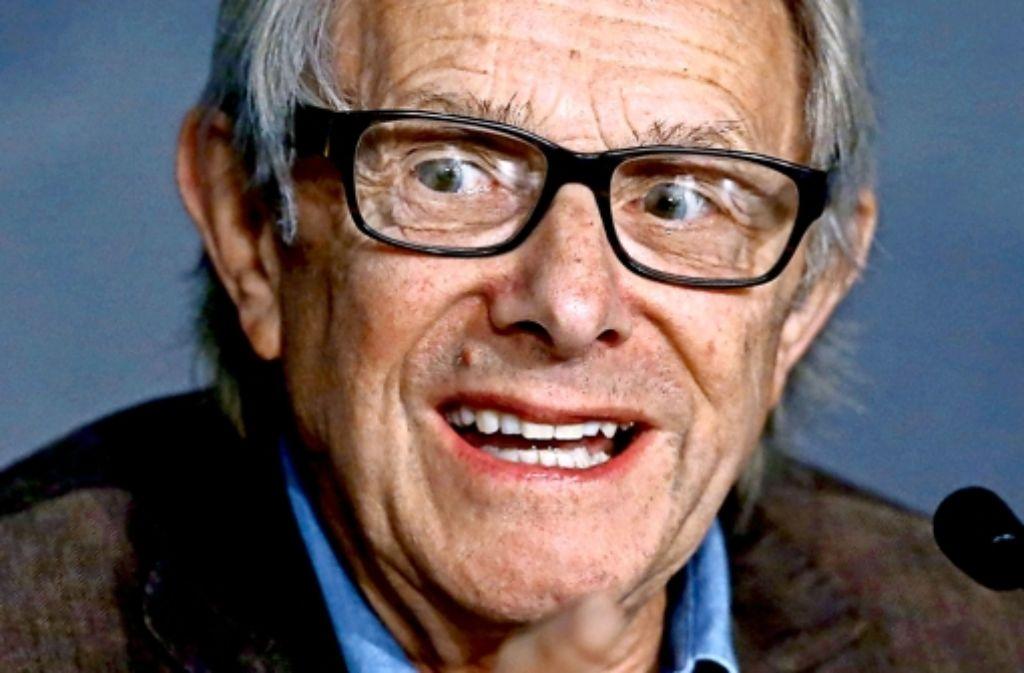Alte Schule: Ken Loach bleibt ein Kritiker der konservativen Politik. Foto: picture alliance