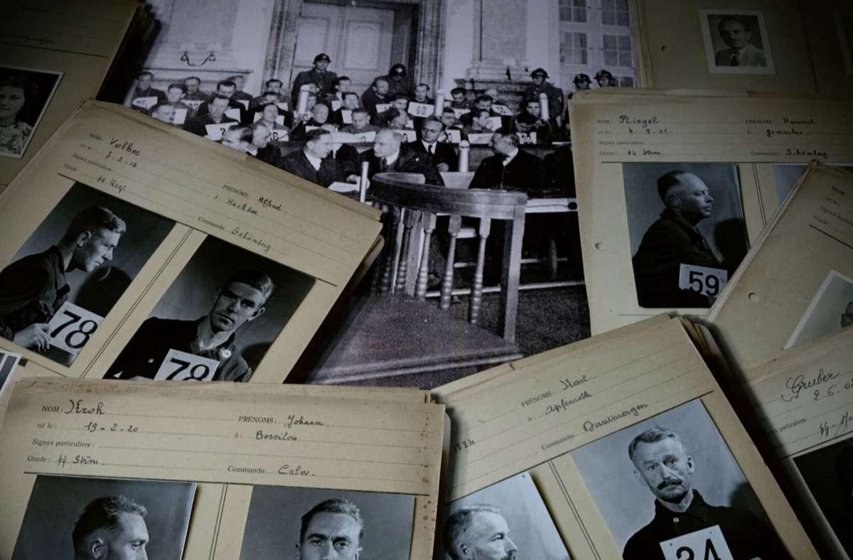 Inzwischen frei für die Forschung: Die Akten der Rastatter Prozesse 1946 bis 1954 Foto: SWR
