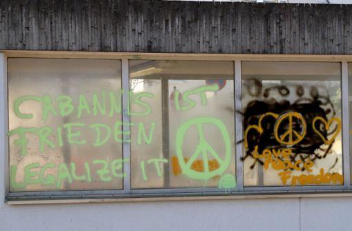 Graffiti-Sprayer mit Rechtschreibschwäche