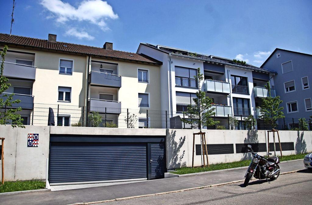 Der Neubau der Baugenossenschaft Luginsland in der Sattelstraße konnte  im Herbst vergangenen Jahres  bezogen werden. Foto: Mathias Kuhn
