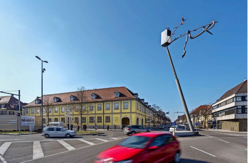 Hier könnte das Bürgerbüro einziehen:    die Wilhelmstraße 1 – 5. Foto: factum/Andreas Weise