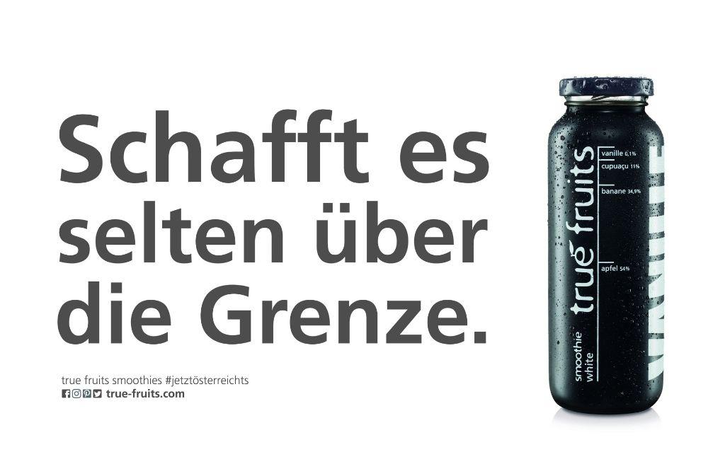 Die neuen Motive der True Fruits Kampagne sind umstritten. Foto: True Fruits