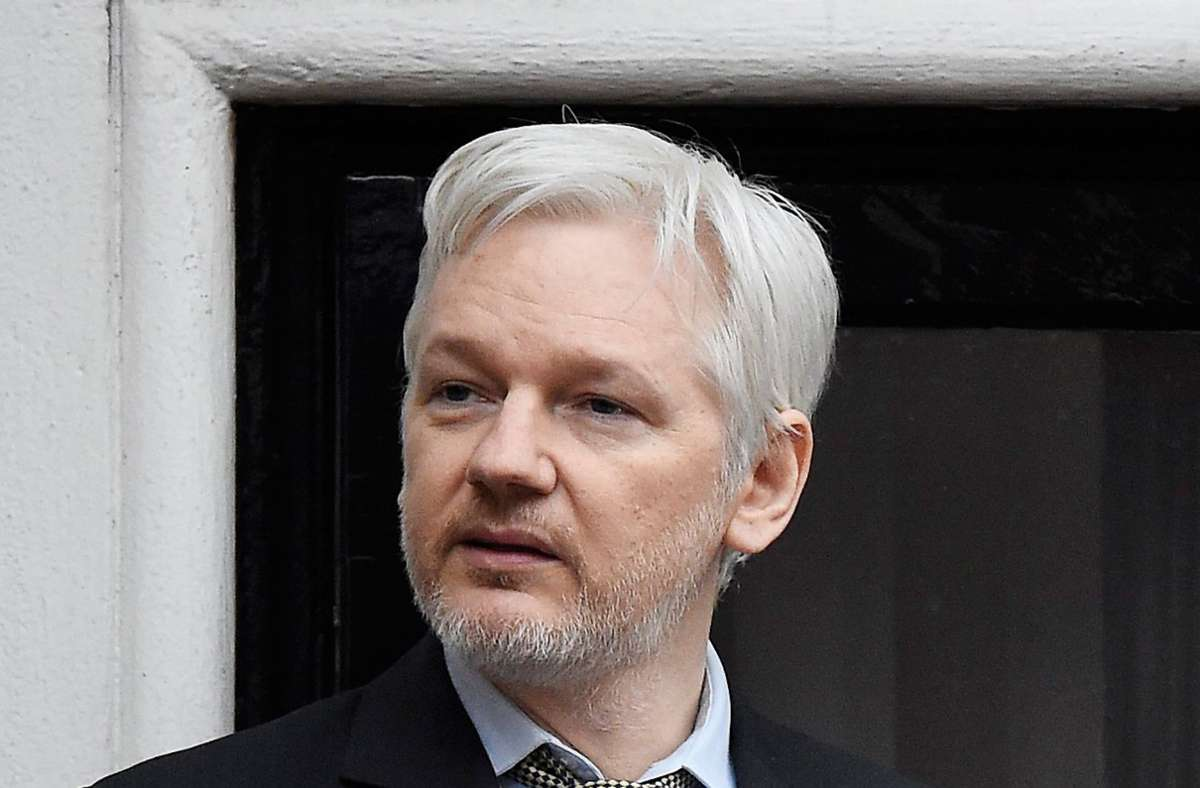 Julian Assange bleibt in Haft. (Archivbild) Foto: dpa/Facundo Arrizabalaga