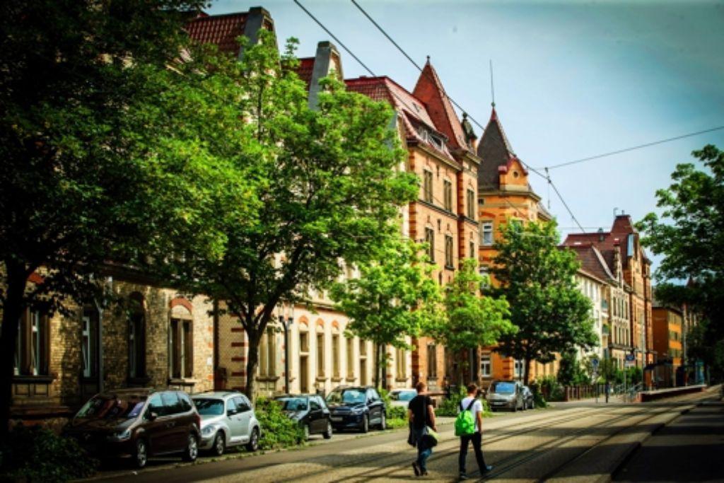 Im Nordbahnhofviertel liegen etwa 2000 der ehemaligen LBBW-Wohnungen. Foto: Lichtgut/Achim Zweygarth