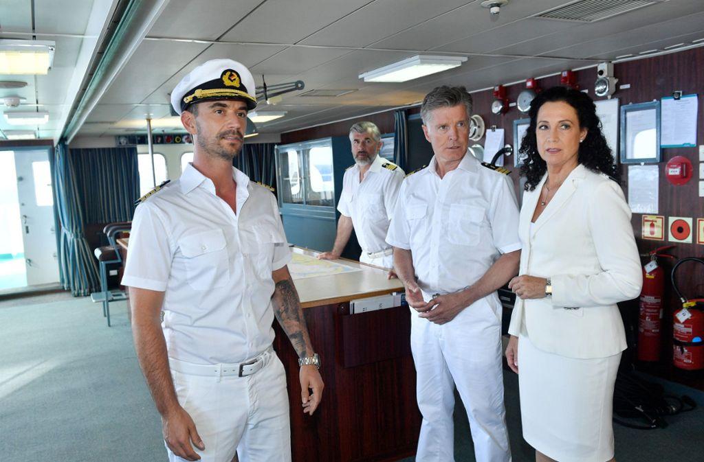 Seine erste Reise mit dem großen ZDF-Dampfer führt den Neu-Kapitän Florian Silbereisen nach Antigua. Foto: dpa/Dirk Bartling