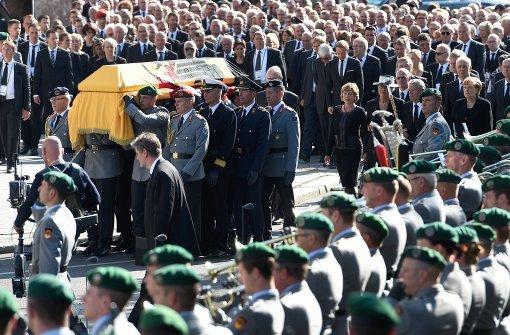 Deutschland verneigt sich vor Walter Scheel