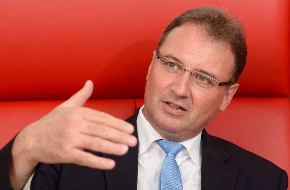 Joachim Walter, Präsident des Landkreistages Baden-Württemberg. (Archivbild) Foto: picture alliance / dpa/Bernd Weissbrod